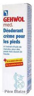 Crème déodorante - 75ml - GEHWOL