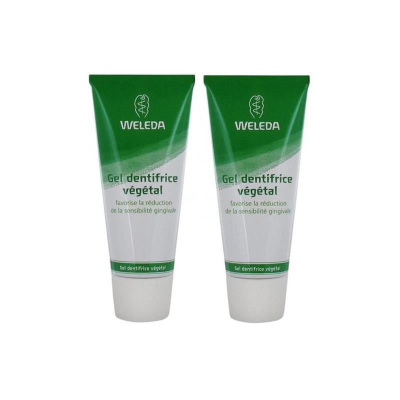 Gel dentifrice végétal DUO - 2 x 75 ml - WELEDA