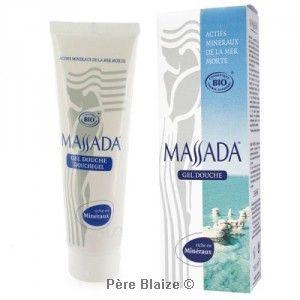 Gel douche certifié BIO - 150 ml - MASSADA