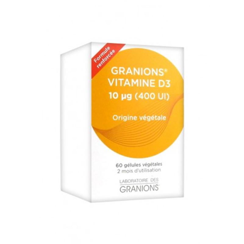 Granions Vit D3 - 60 gél - LABORATOIRES DES GRANIONS