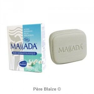 Pain dermatologique certifié BIO - 100 g - MASSADA