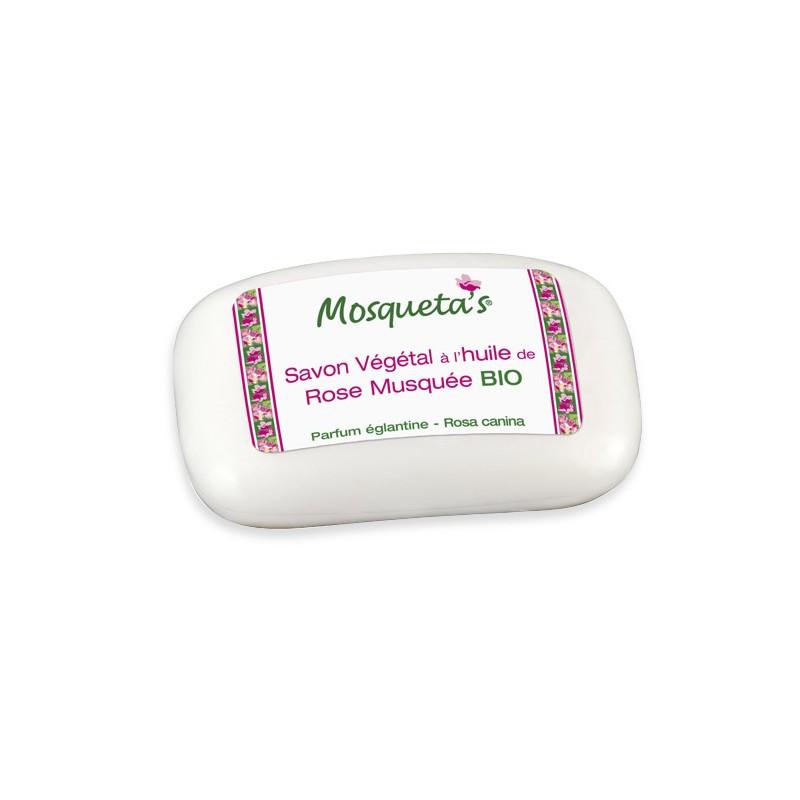 Savon végétal extra-doux - 125 g - KOSMEO MOSQUETA'S