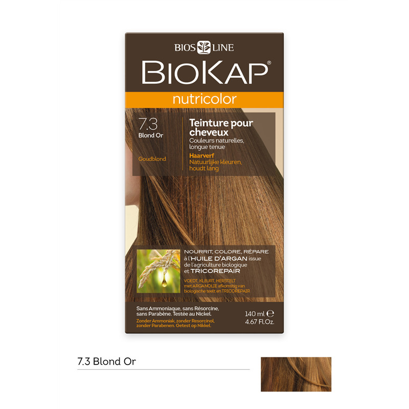 Nutricolor - Blond or 7.3 - 140 ml - BIOKAP