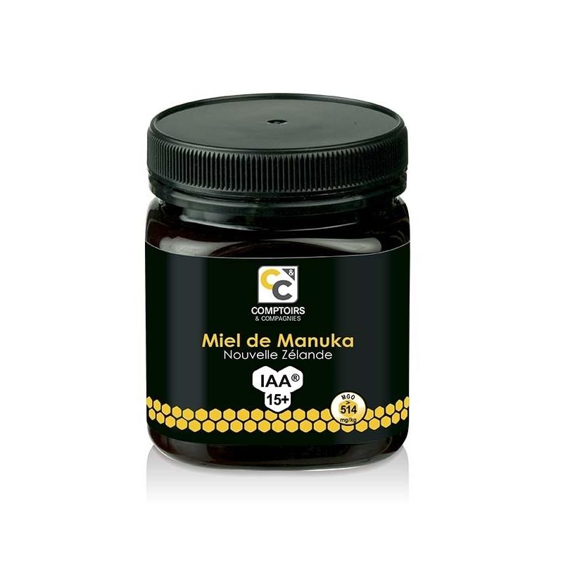 Miel de manuka IAA15+ - 250 g - COMPTOIRS&COMPAGNIES