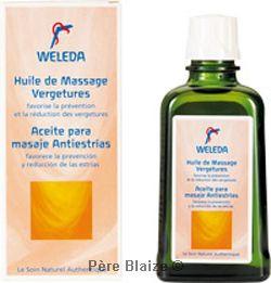 Huile de Massage Vergetures Duo - 2 x 100 ml - Weleda