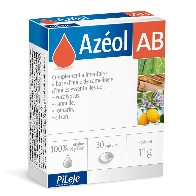 Azéol AB - 30 capsules - LABORATOIRE PILEJE