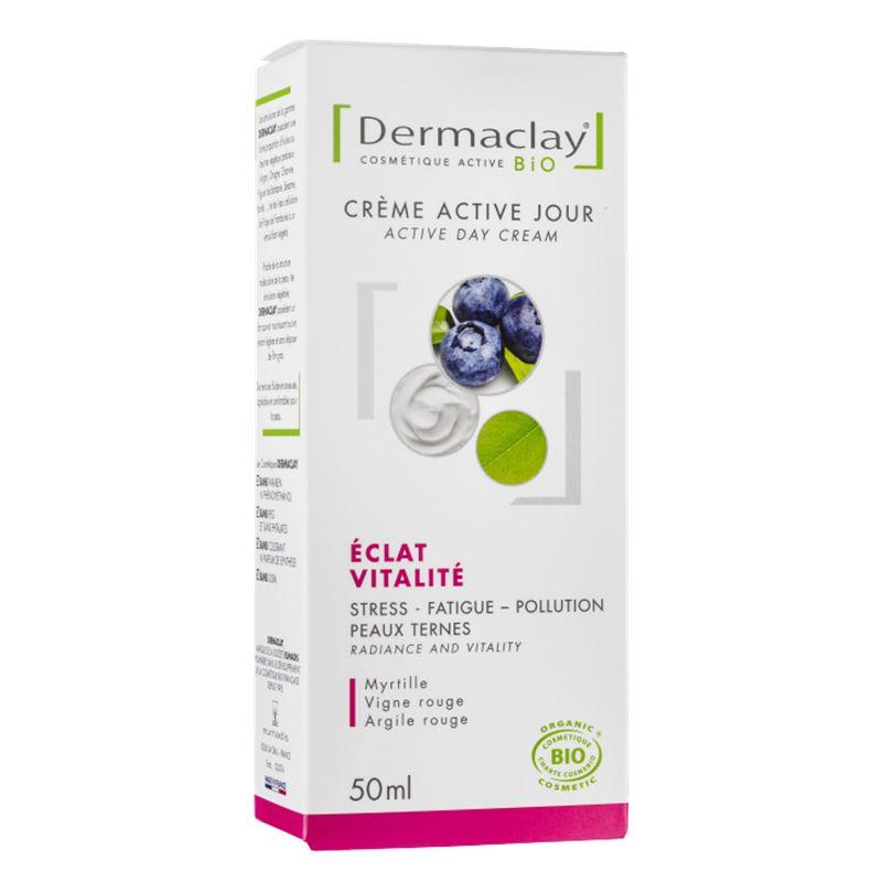 Crème active jour eclat - vitalité - 50 ml - DERMACLAY
