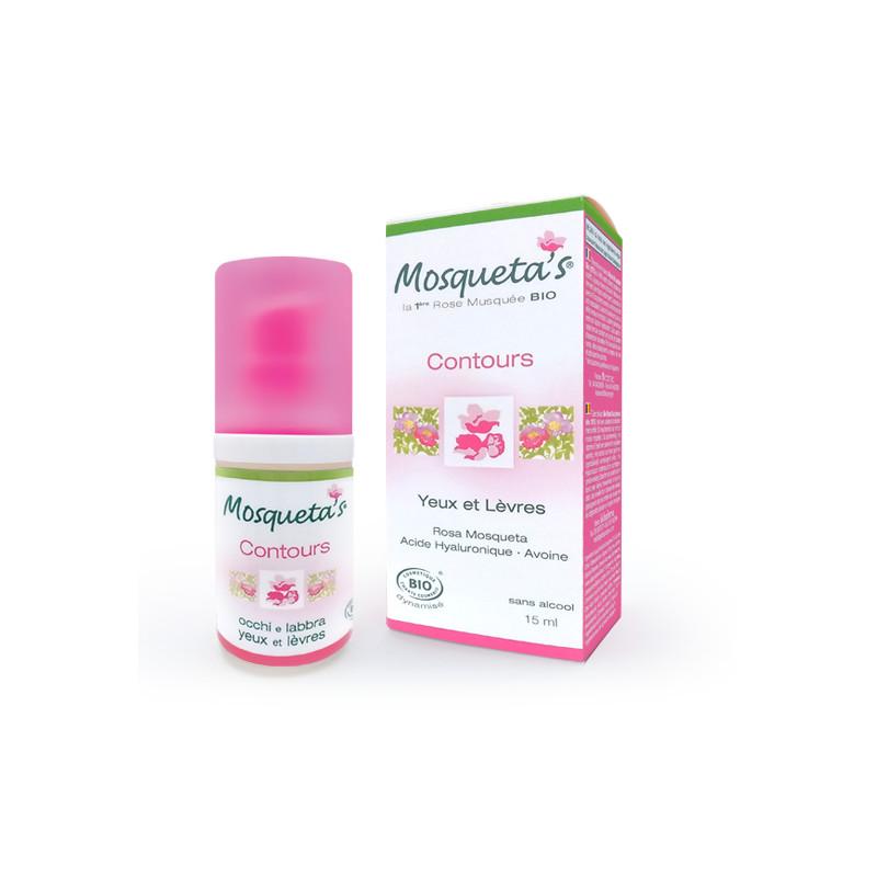Crème contours yeux et lèvres - flacon de 15 ml - KOSMEO MOSQUETA'S