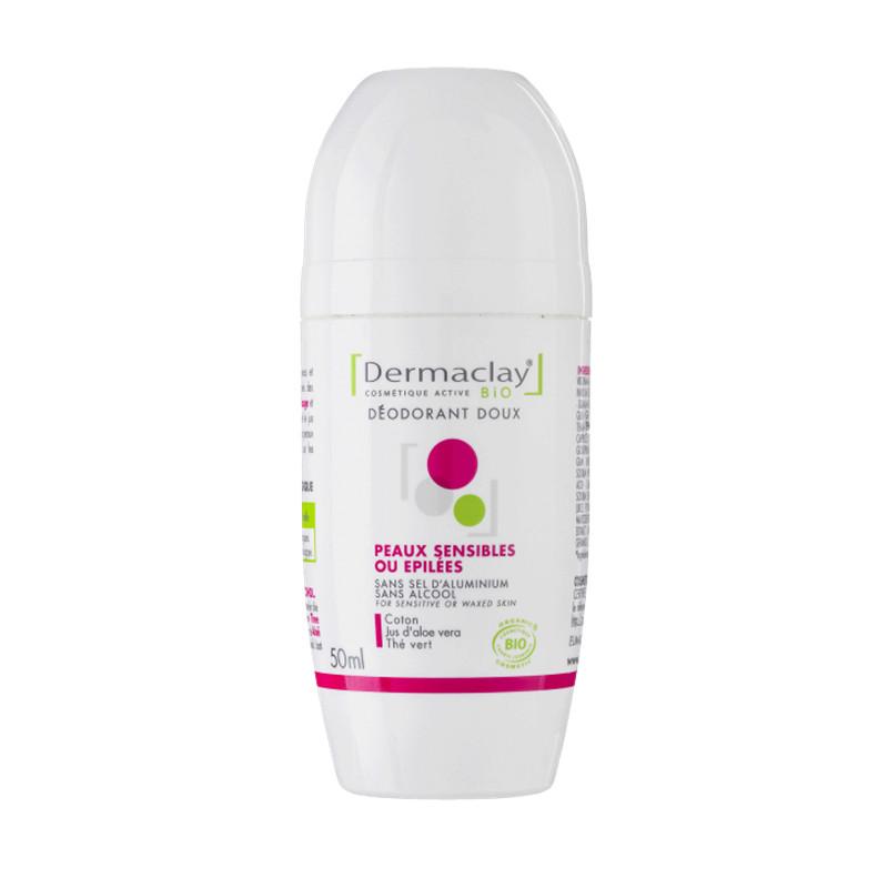 Déodorant doux peau sensible ou épilées - 50 ml - DERMACLAY