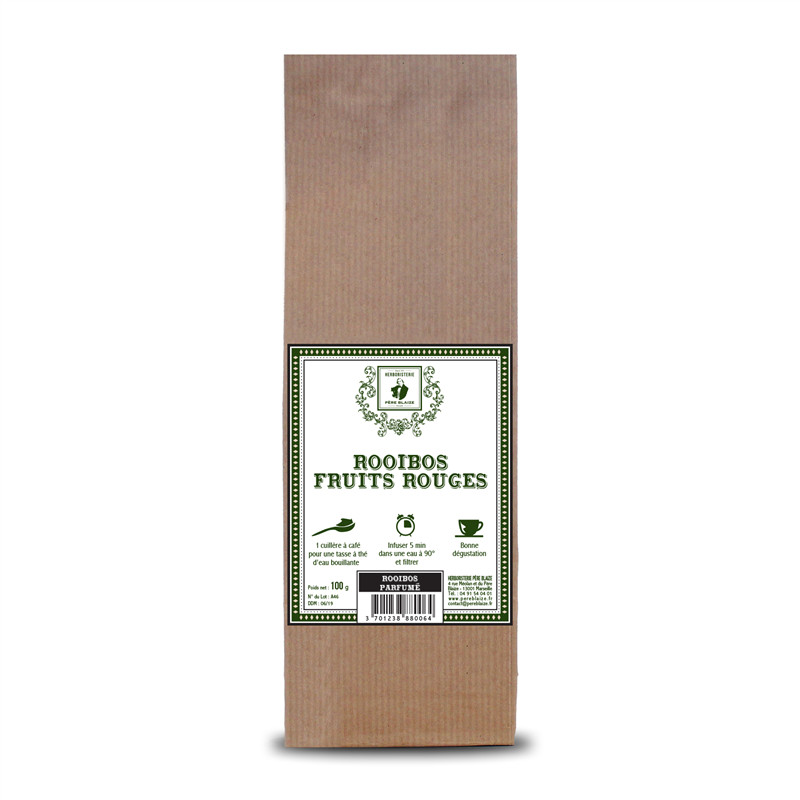 Rooibos Fruits Rouges - 100 g -  Père Blaize.