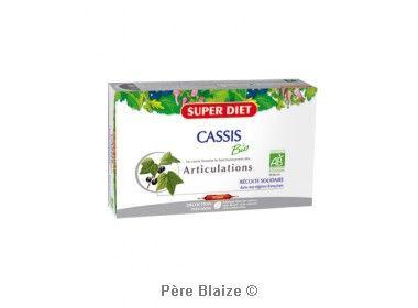 Cassis BIO - 20 ampoules x 15ml - LABORATOIRES SUPERDIET