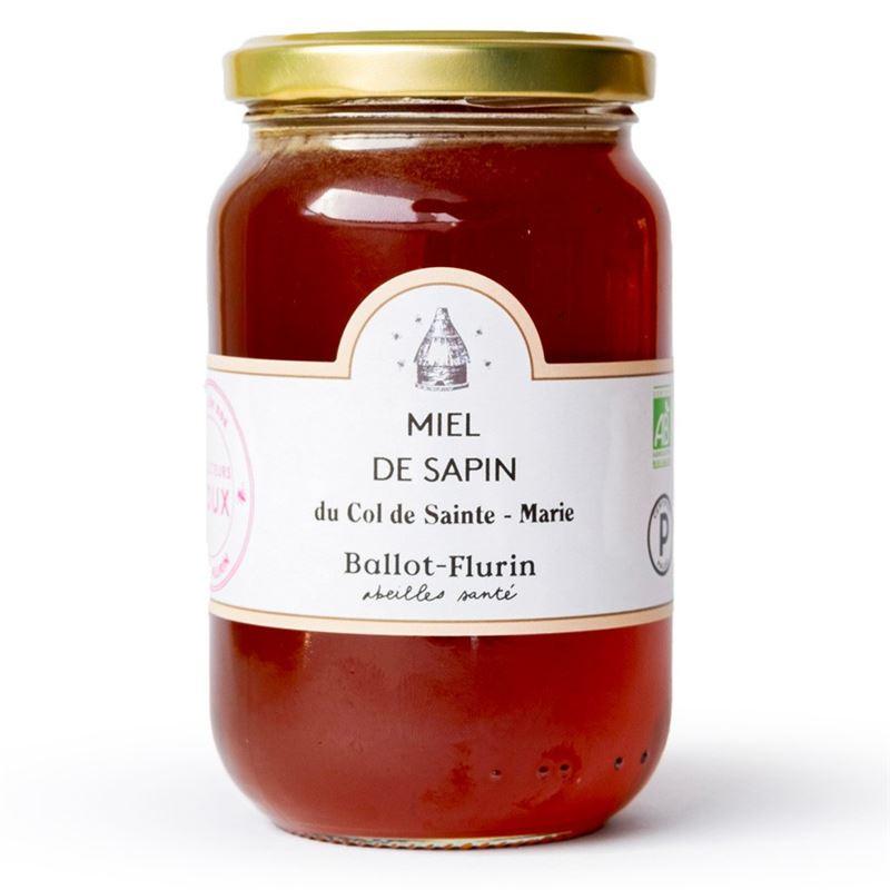 Miel de sapin bio- pot de 480 g - BALLOT-FLURIN