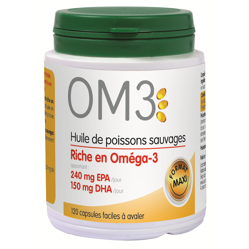 OM3 huile de poisson riche...