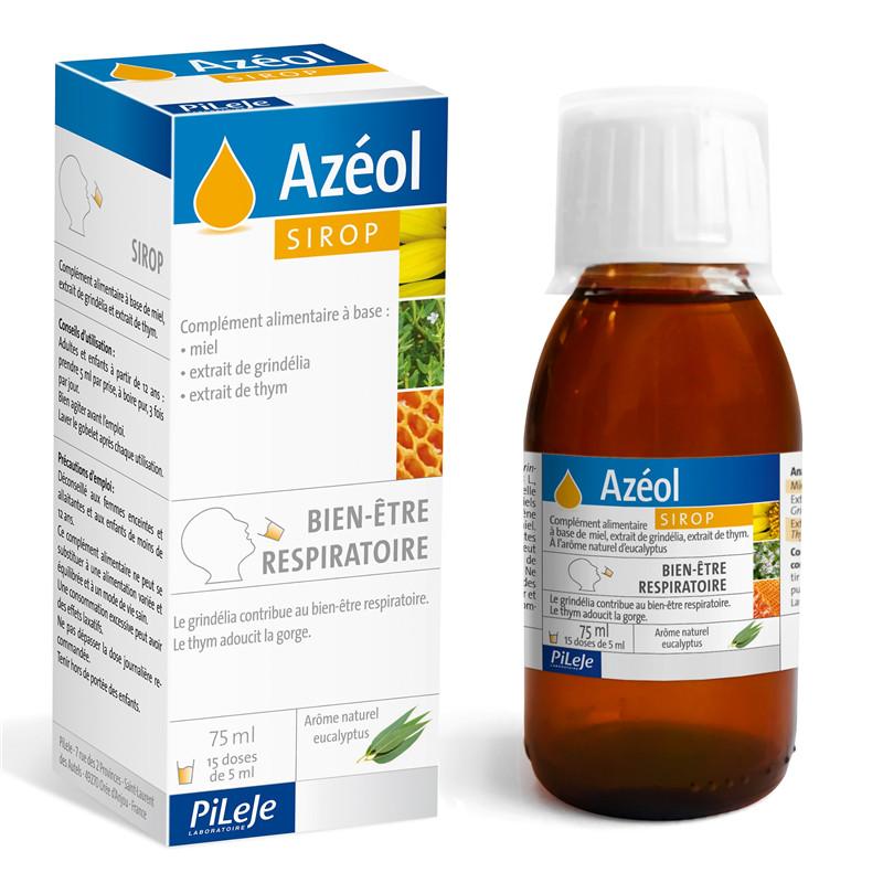 Azéol sirop - 75 ml - LABORATOIRE PILEJE