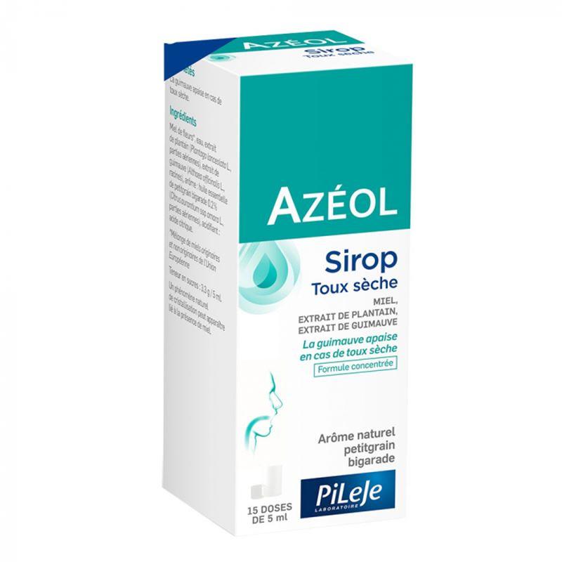Azeol sirop toux seche - 75 ml - LABORATOIRE PILEJE