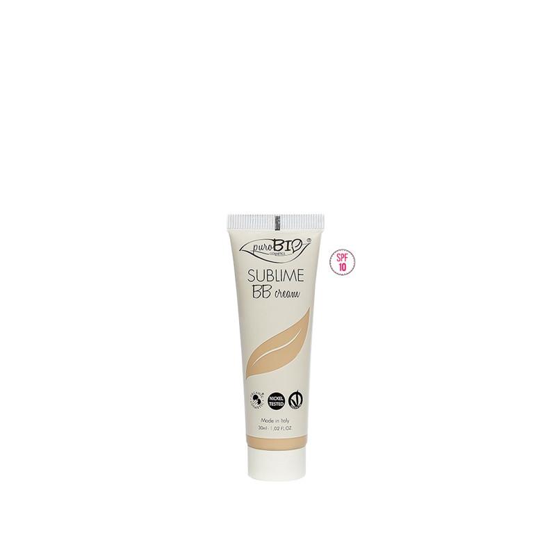 "BB Cream  01 ""Sublime"" - 30 ml - PUROBIO COSMETICS"