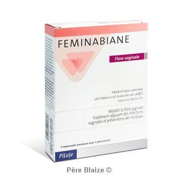 Feminabiane flore vaginale -7 comprimés - LABORATOIRE PILEJE
