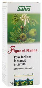 Figue et manne - suc de plantes fraîches- 200 ml - SALUS
