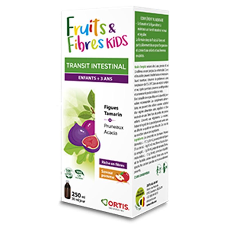 Fruits & fibres kids sirop - 250 ml - ORTIS