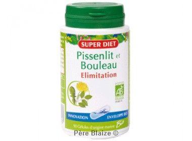 Pissenlit - bouleau BIO - 90 gél - LABORATOIRES SUPERDIET