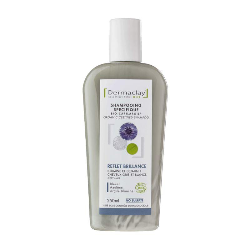 Shampooing BIO reflet et brillance - 250 ml - DERMACLAY