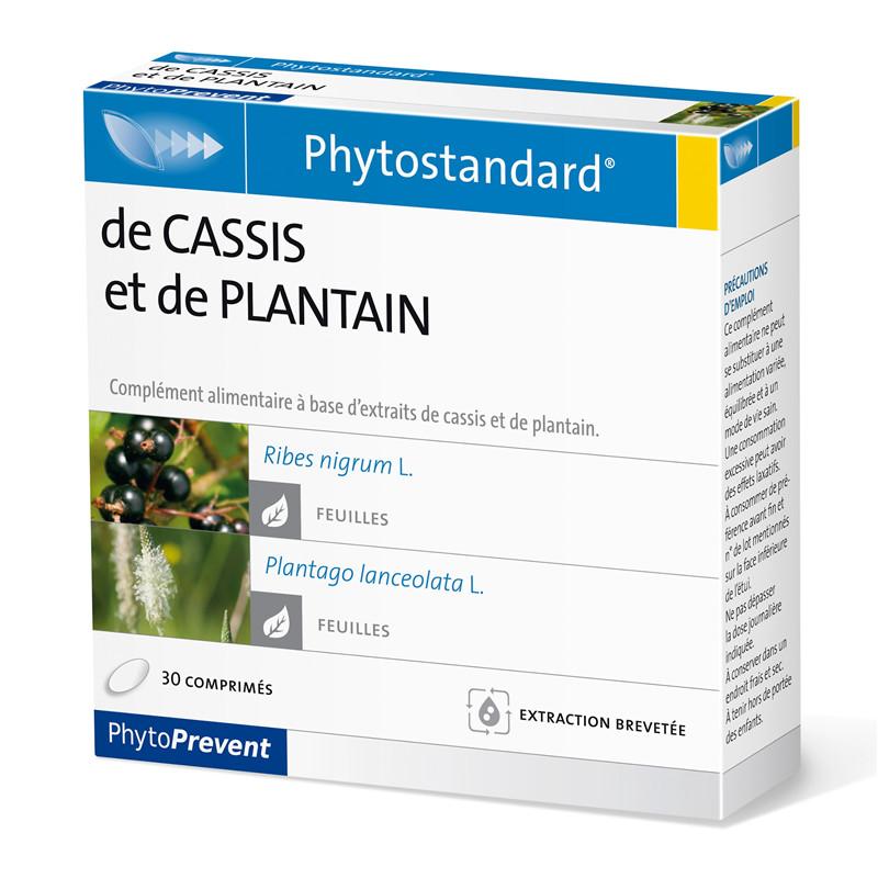 Cassis plantain - 30 comprimés - PHYTOSTANDARD - LABORATOIRE PILEJE