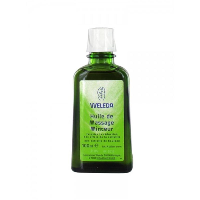 Huile de Massage minceur aux extraits de Bouleau - 100 ml - Weleda
