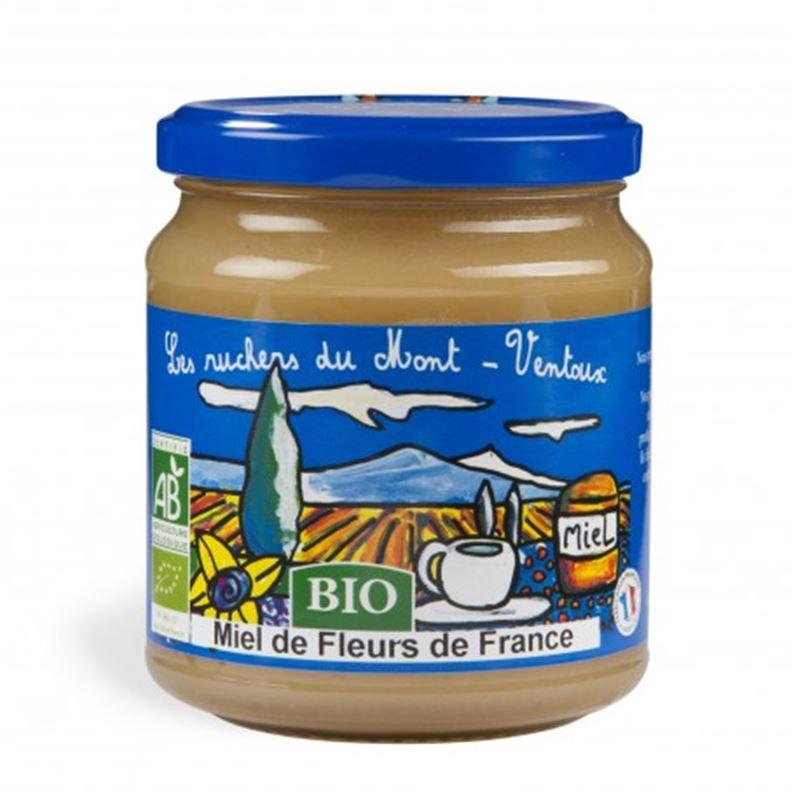 Miel de fleurs BIO de France - 250g - AUGIER MIEL