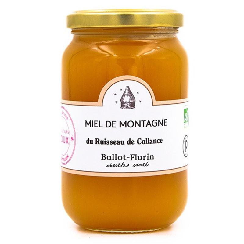 Miel de montagne Bio - pot de 480 g - BALLOT-FLURIN