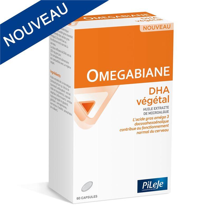 OMEGABIANE DHA végétal - 60 caps - LABORATOIRE PILEJE