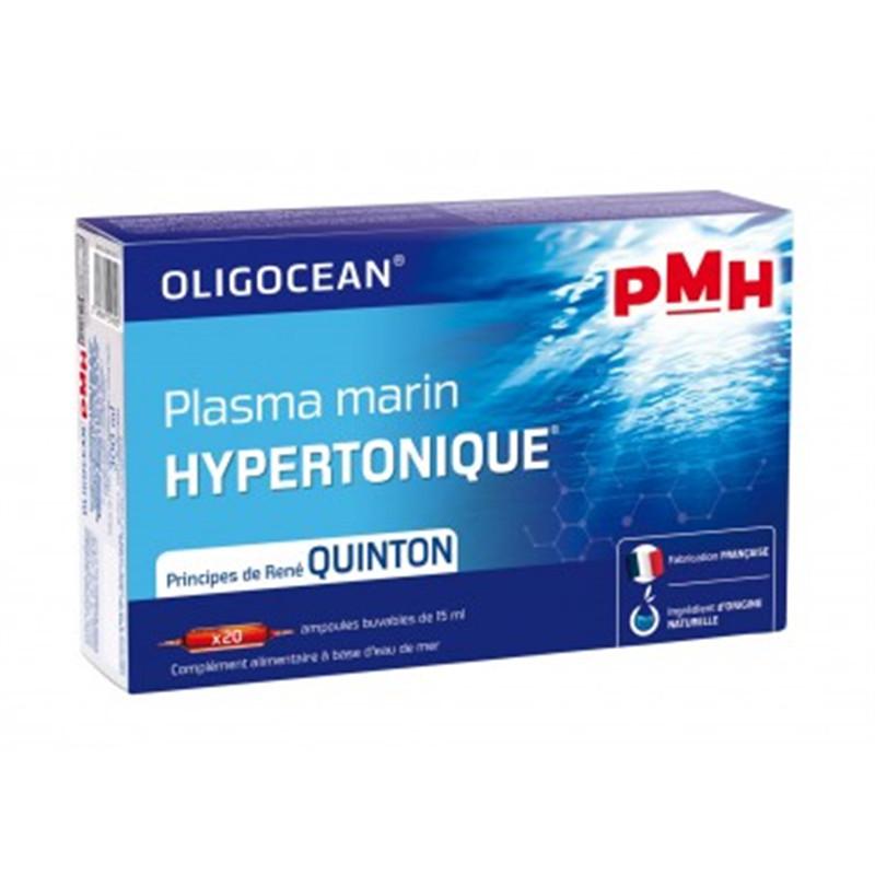 Pmh (plasma marin hypertonique) - 20 ampoules x 15 ml - LABORATOIRES SUPERDIET