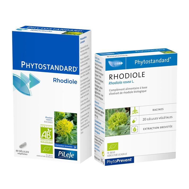 Rhodiole - 60 gél - PHYTOSTANDARD - LABORATOIRE PILEJE