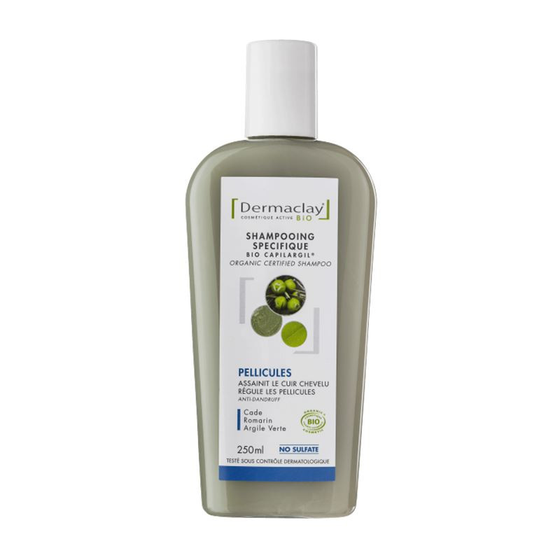 Shampooing BIO anti-pelliculaire - 250 ml - DERMACLAY
