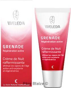 Grenade - crème de nuit raffermissante - 30 ml - WELEDA