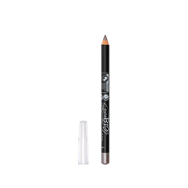 Crayon pour Les yeux  46 - kajal Gris métal - 1-3 g - PUROBIO COSMETICS