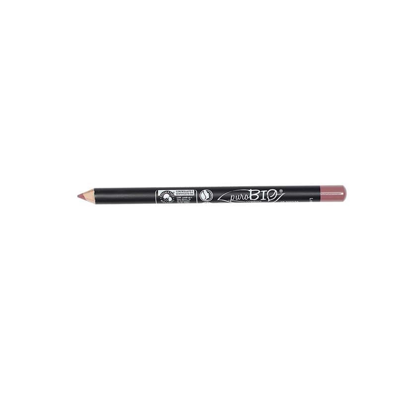 Crayon à Lèvres fin Rose Mauve  08 - 1,3 g - PUROBIO COSMETICS