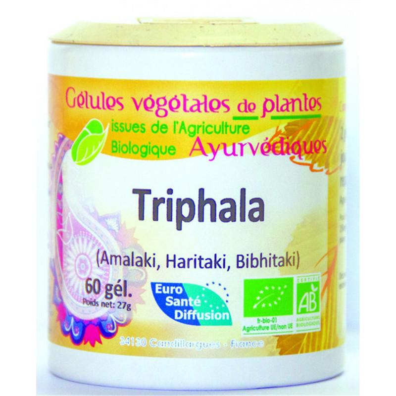 Gelules Triphala Bio - 60 gel - EURO SANTE DIFFUSION