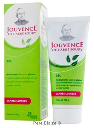 Gel tube Abbe soury - 100 g - JOUVENCE DE L'ABBE SOURY