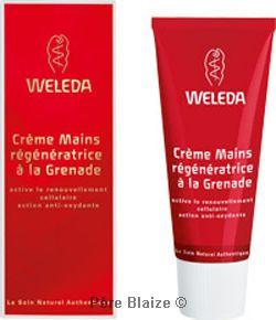 Crème mains à la grenade - 50 ml - WELEDA