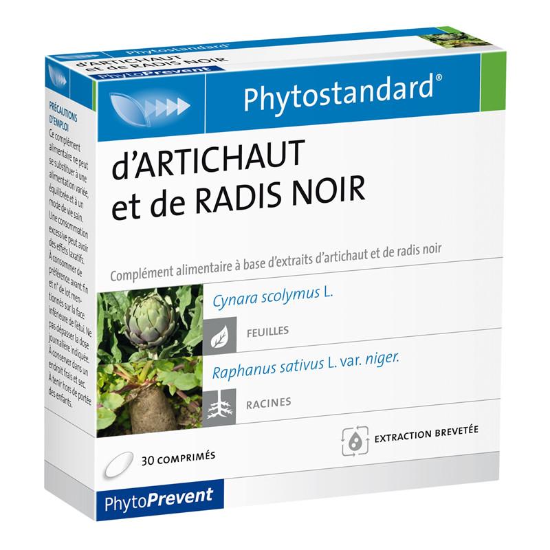 Artichaut radis noir - 30 comprimés - PHYTOSTANDARD - LABORATOIRE PILEJE