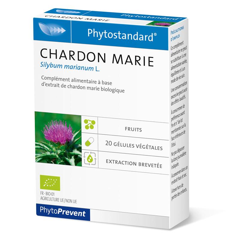 Chardon marie - 20 gél - PHYTOSTANDARD - LABORATOIRE PILEJE