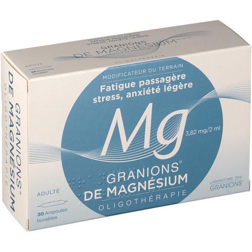Granions de magnesium - 30 amp - LABORATOIRES DES GRANIONS