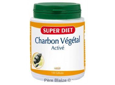 Charbon vegetal - 150 gél - LABORATOIRES SUPERDIET