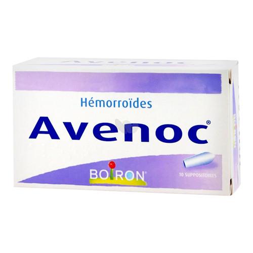Avenoc suppositoires - 10 suppos - BOIRON