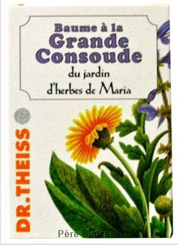 Baume grande consoude - 100 ml - JARDIN D'HERBES DE MARIA - DR THEISS