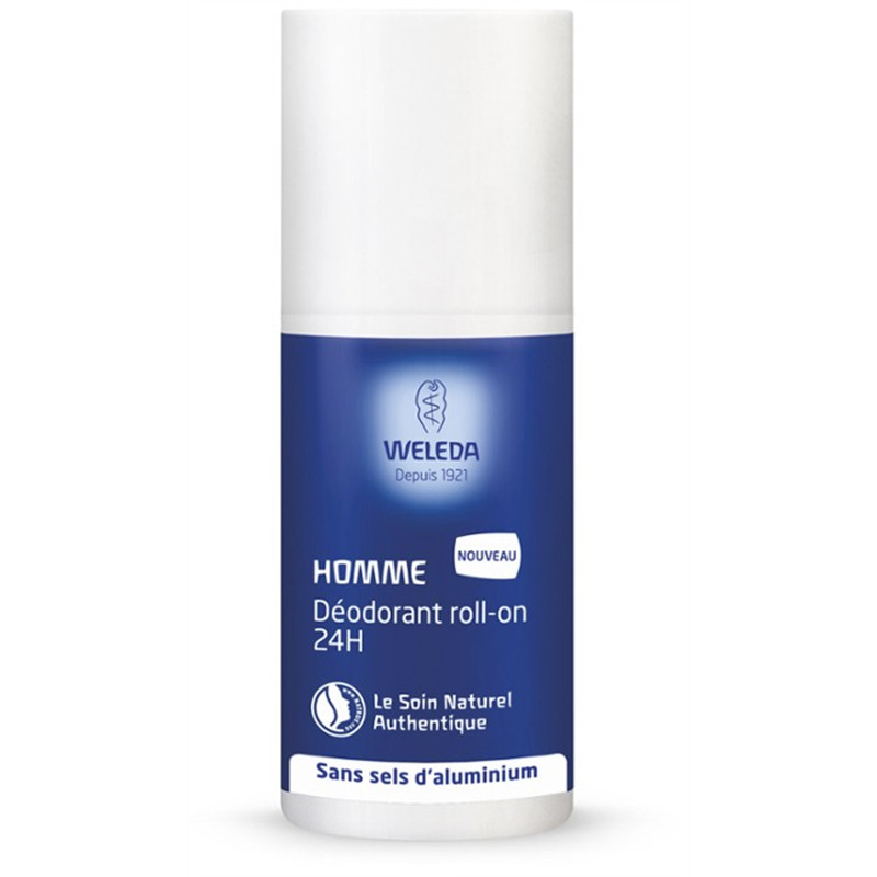 Déodorant Homme Roll-on 24h - 50 ml - WELEDA