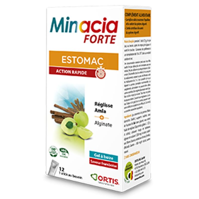 Minacia forte gel sticks (nouvelle formule) - 12 x 12g - ORTIS