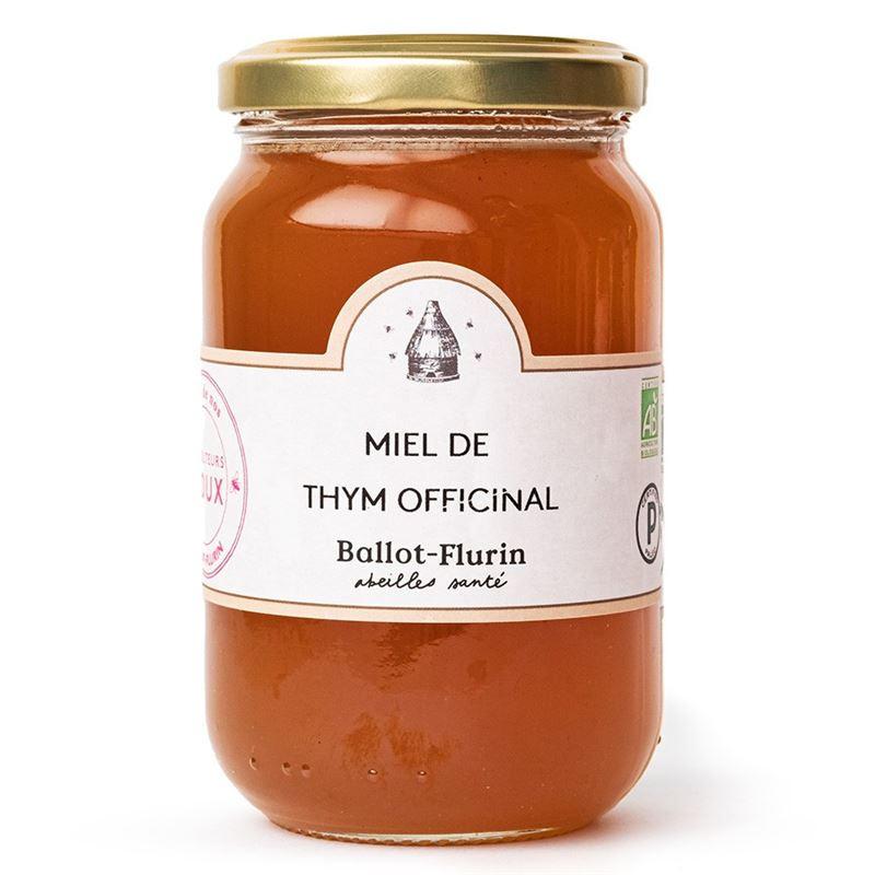 Miel de thym Officinal Bio - pot de 480 g - BALLOT-FLURIN