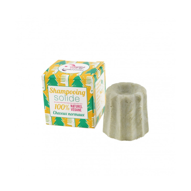 Shampooing solide cheveux normaux au pin sylvestre - 55g - LAMAZUNA
