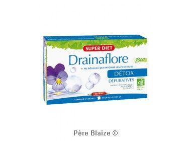 Drainaflore BIO - 20 ampoules x 15 ml - LABORATOIRES SUPERDIET
